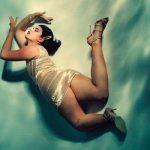 Crystal Renn in Australia Harper's Bazaar
