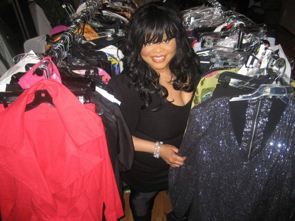 Celebrity Stylist and Plus size designer Susan Moses