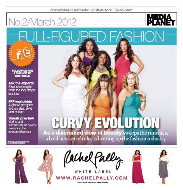 Media Planet Curvy Evolution USA Today Insert