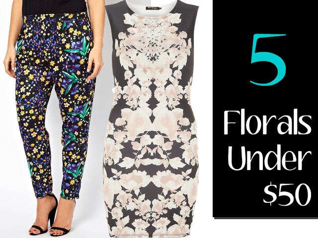Five Florals under $50