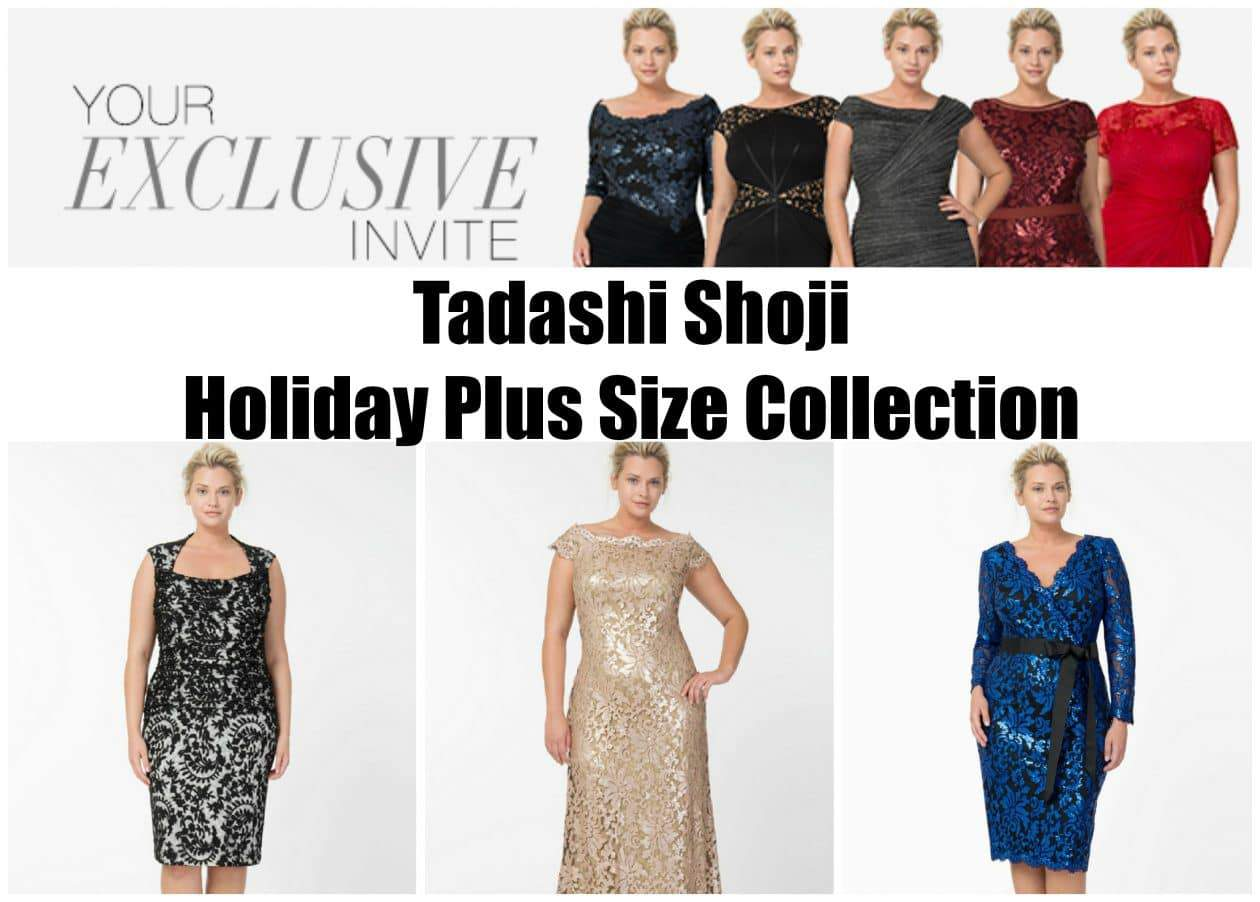 Tadashi Shoji Plus Size Holiday Collection
