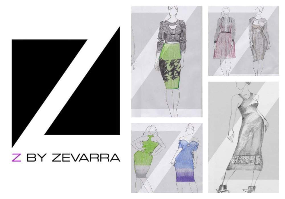 Plus Size Designer Label- Z by Zevarra
