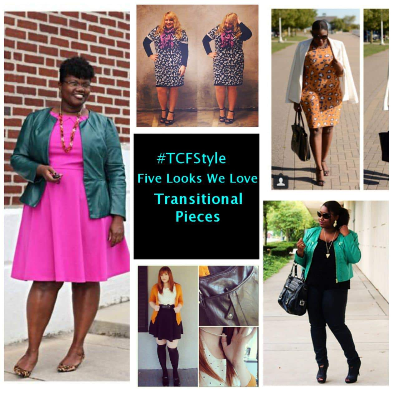 #TCFStyle Five Looks We Love: Transitional Pieces