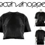 Faux Leather Crop from Posh Shoppe