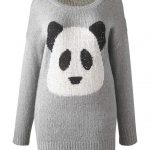 Simply Be Plus Size Sequins Panda Sweater