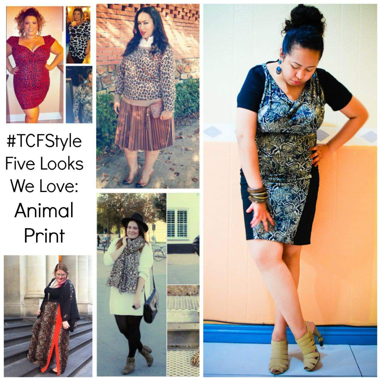 #TCFStyle Animal Print