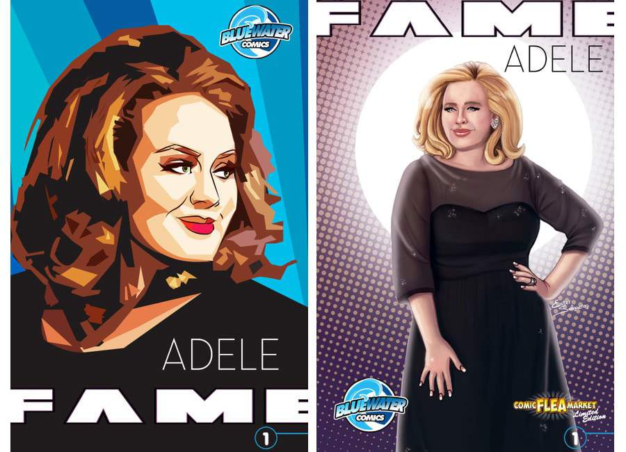 Adele Comic Book 'Fame'