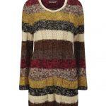 totem-pole-Plus Size Sweater Dress on The Curvy Fashionista