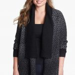 sejour-shawl-collar-open-cardigan-Plus Size Cardigans on The Curvy Fashionista