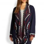 Johnny Was Embroidered Duster Cardigan Plus Size Cardigans on The Curvy Fashionista