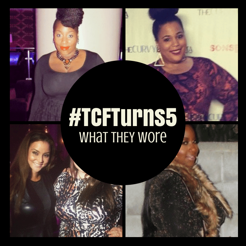 Looks We Love: What THEY Rocked to #TCFTurns5 on The Curvy Fashionista
