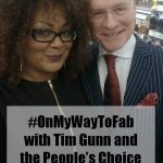 #OnMyWayToFab with Tim Gunn for the Peoples Choice Awards