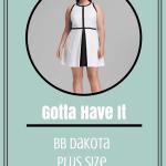 BB Dakota Plus Size Filmore Dress