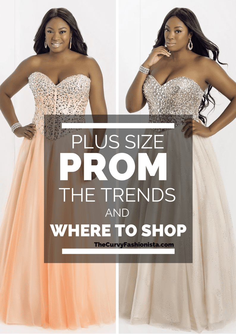 Plus Size Prom Dress Trends