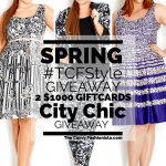 It is a Spring #TCFStyle Giveaway with City Chic