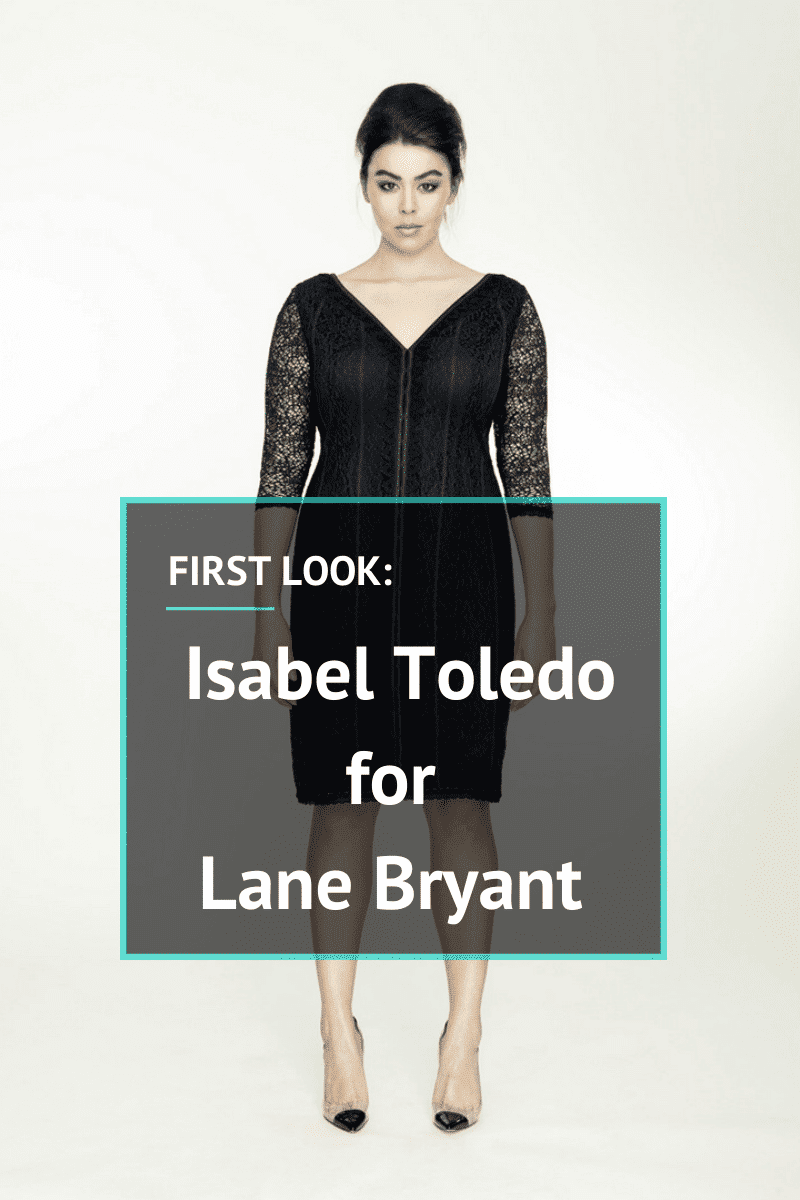 Isabel Toledo for Lane Bryant on The Curvy Fashionista