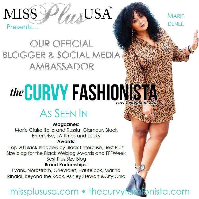 I am your Social Media Ambassador for The Miss and Teen Plus USA