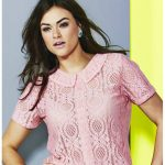 Lace Shirt with Collar at Simply Be on The Curvy Fashionista