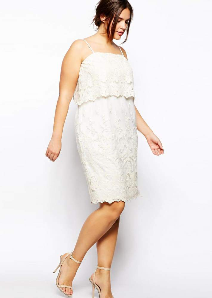 10 All White Plus Size Party Dresses | The Curvy Fashionista