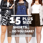 SPRING AND SUMMER PLUS SIZE SHORTS