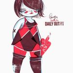 Plus Size Art: Cherry from Studio Killers OOTD-Who cares, I have tequila