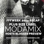 Plus Size Design Label ModaMix Fashion Hosts Blogger Preview