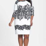 Look #3 Adrianna Papell Print Sheath Dress