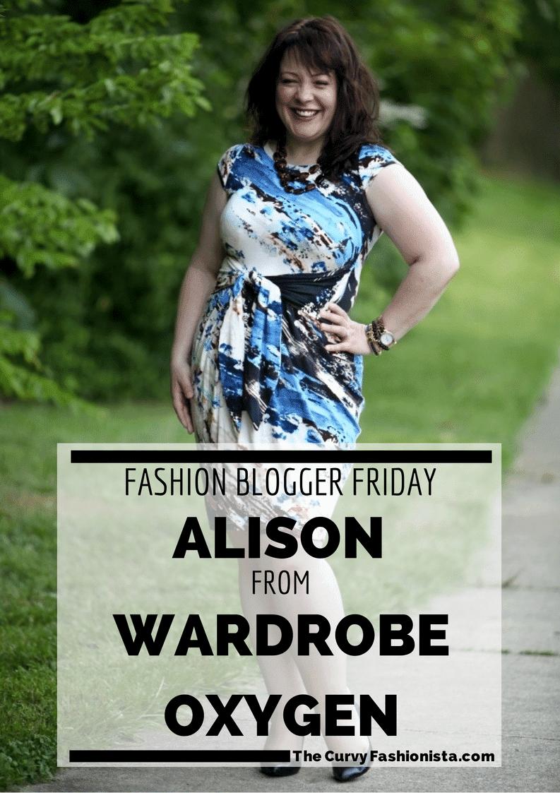 FASHION BLOGGER FRIDAYS: Alison from Wardrobe Oxygen