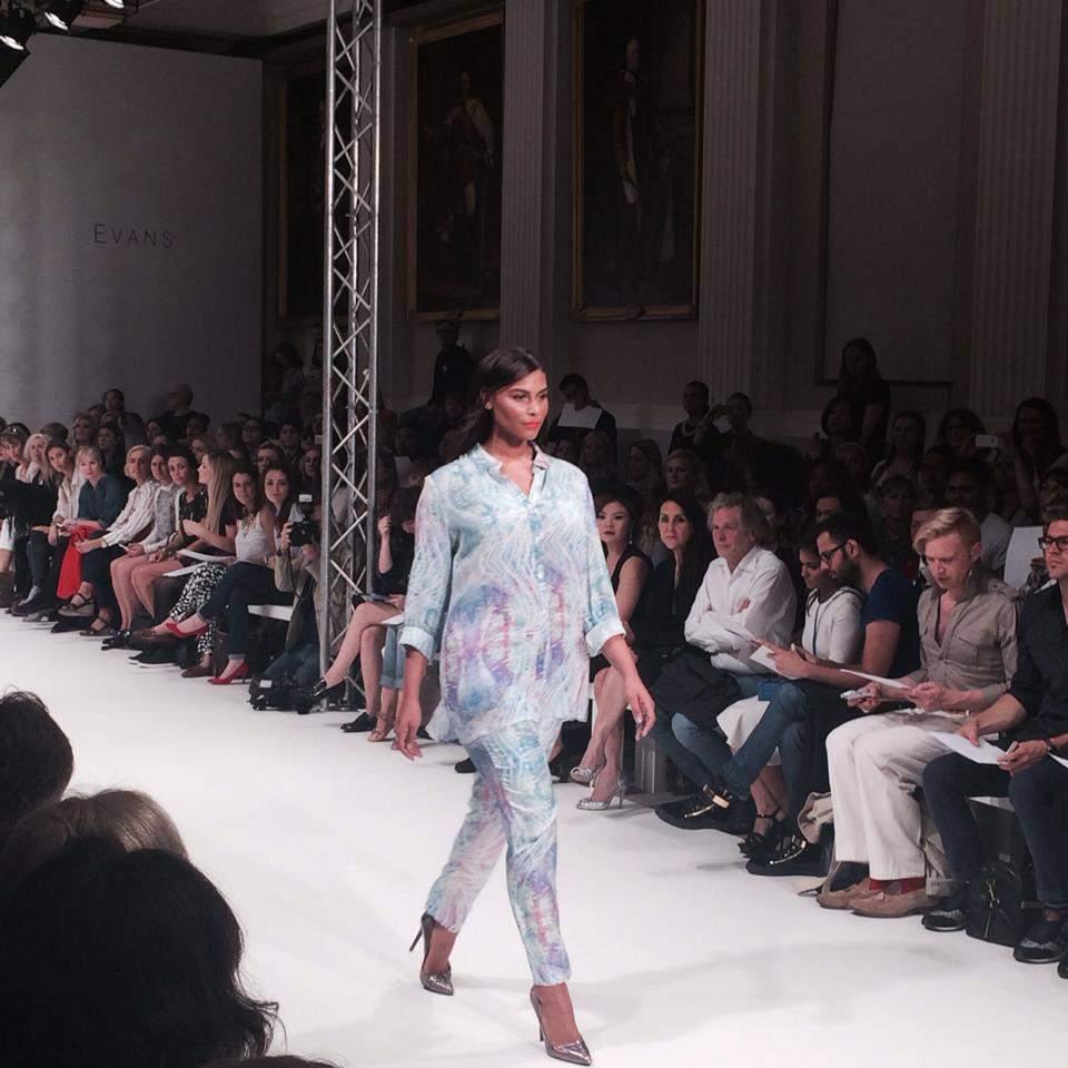 #CutforEvans Design Collective for EVANS Debuts at London Fashion Week