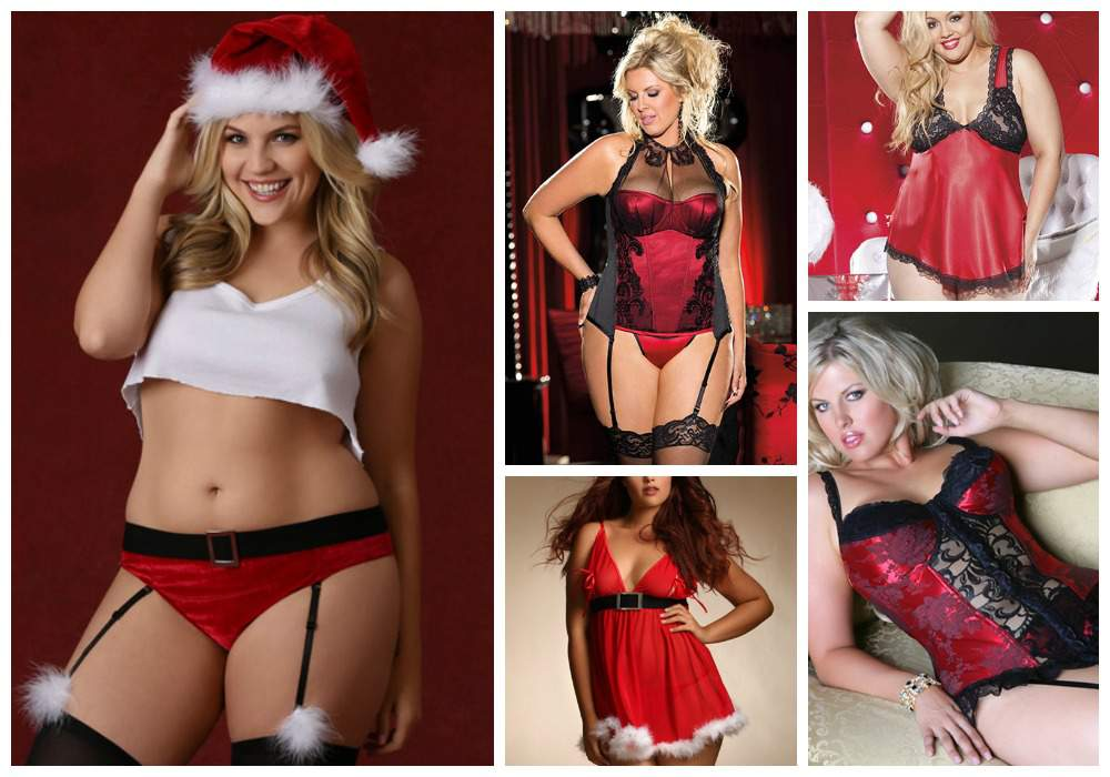 Hips and Curves Plus Size Lingerie- Haute Holiday Gifts