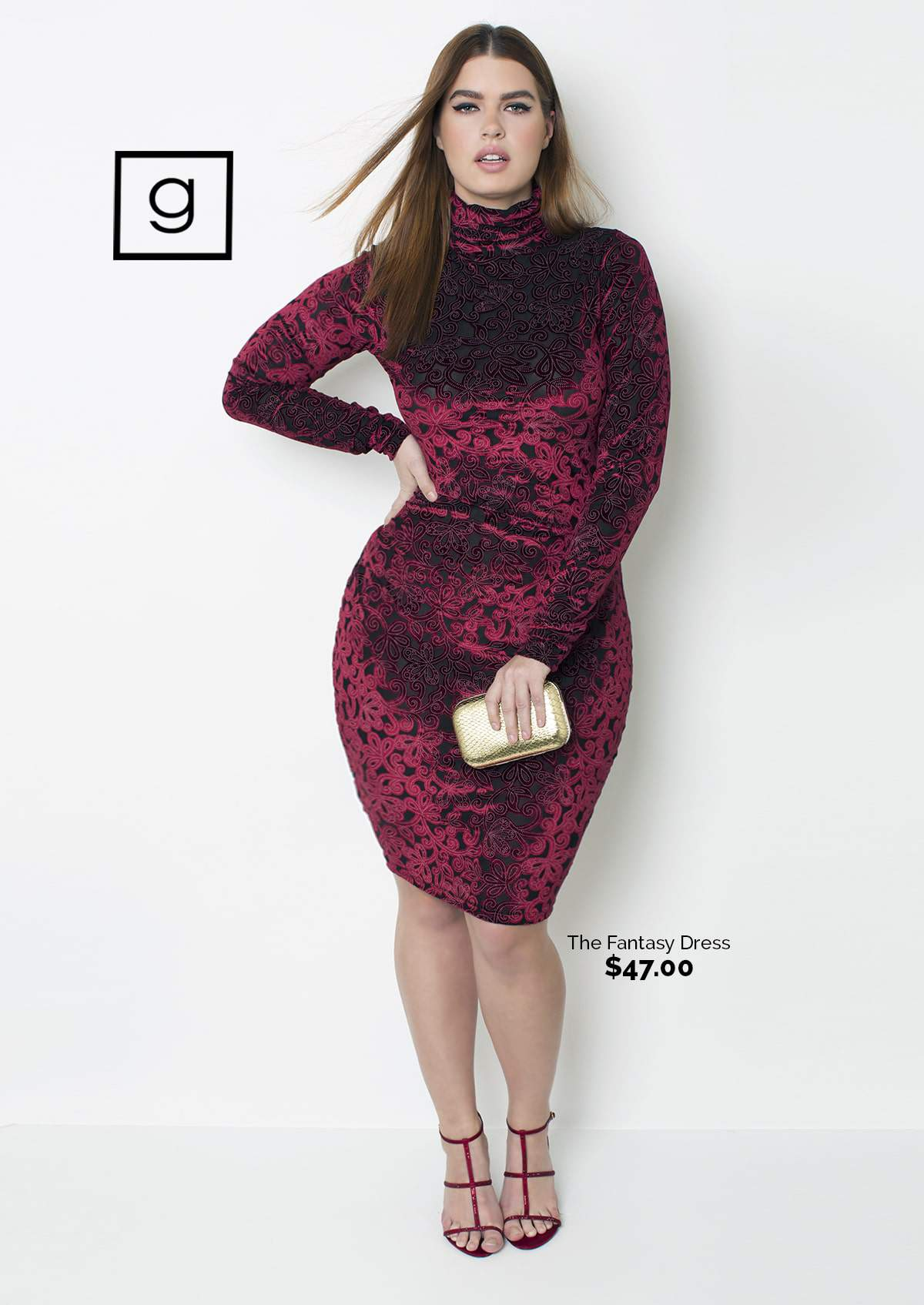 The Grisel Fantasy Plus Size Dress