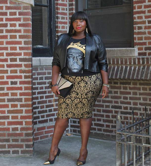 Alssa from Stylish CUrves on The Curvy Fashionista