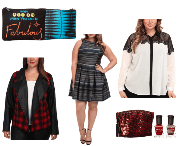 Zappos Secret Santa by Kelas Kloset on The Curvy Fashionista