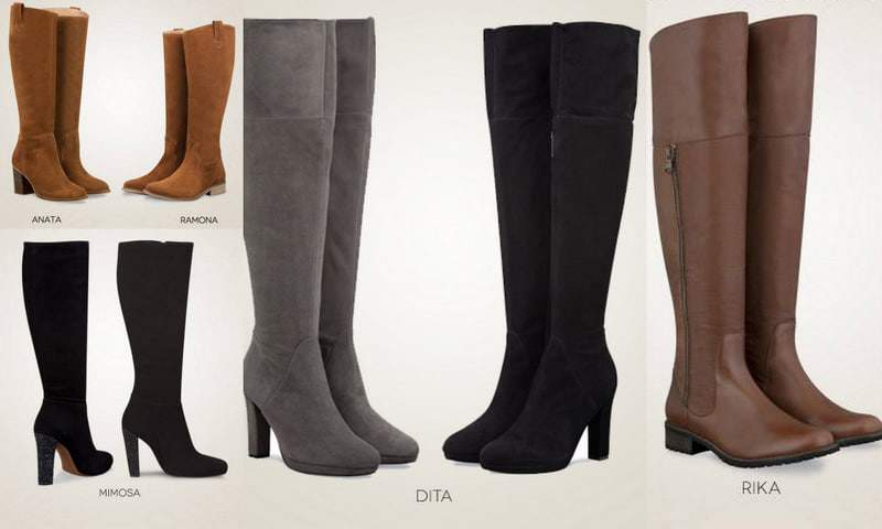 TCFTurns6 Giveaway: Get Booted up with Duo Boots! on The Curvy Fashionista