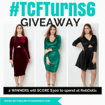 TCFTurns6 Giveaway with RebDolls