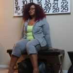 Blogger Off Duty with Rainbeau Curves: Welcome to Marie Denee's Office via @ TheCurvyFashionista.com