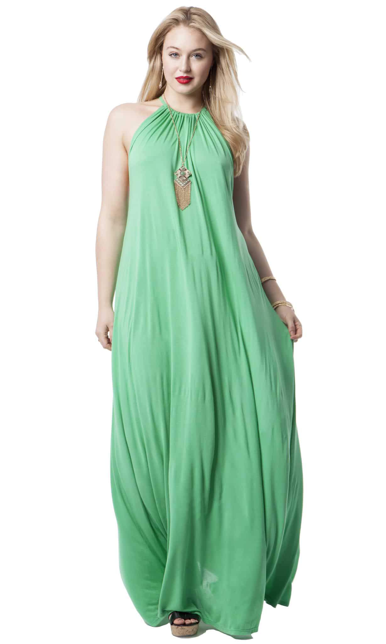 Halter Maxi Dress by lauren Moshi Michael Lauren