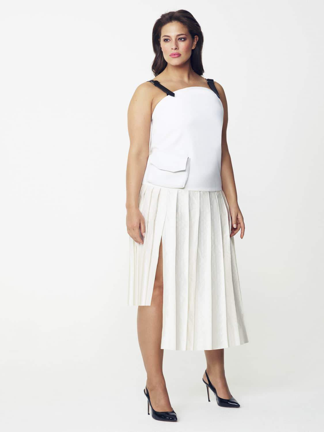 Jamie Wei Huang Plus Size Dress by Evans on TheCurvyFashionista.com