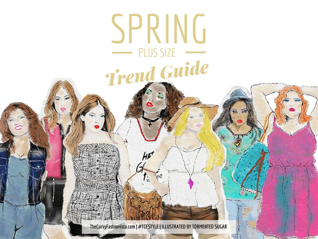 Spring 2015 Plus Size Trends On TheCurvyFashionista.com