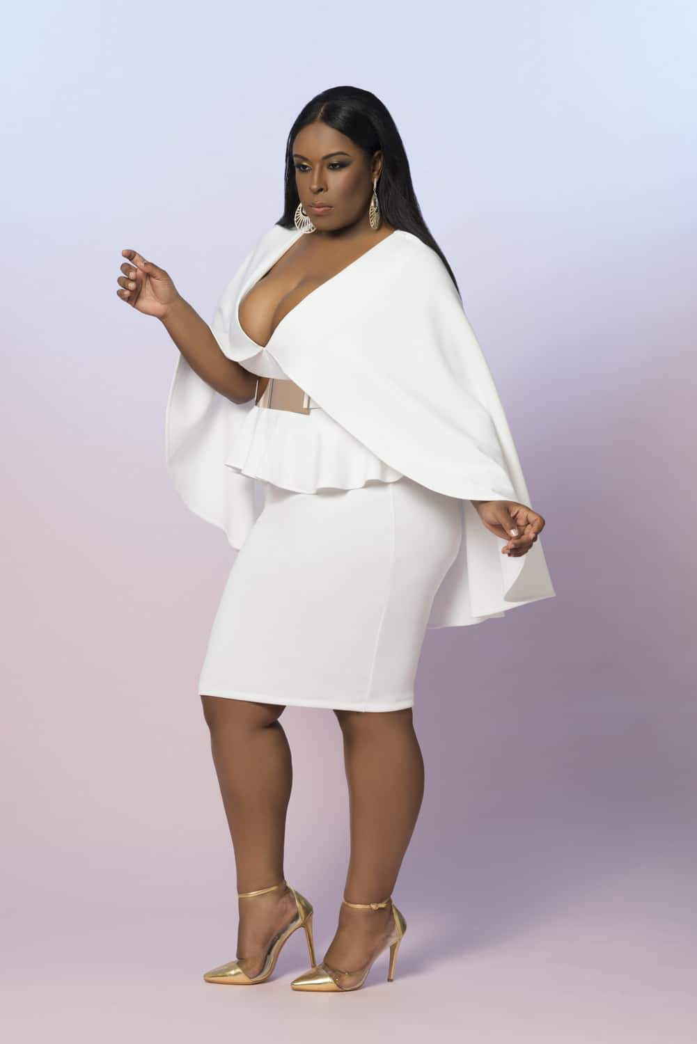 Z by Zevarra White Label Plus Size Designer Summer Collection on The Curvy Fashionista