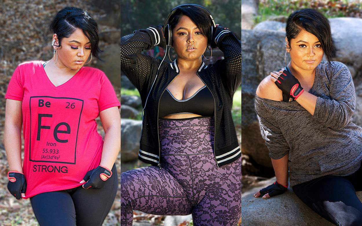 Plus size Active Wear Brand- Just Curves