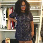 The Curvy Fashionista on Holiday dress shopping at Burling! #BurlingtonStyleSquad