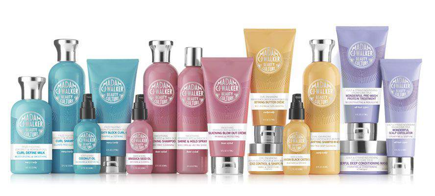 The Madam C.J. Walker Beauty Culture Collection