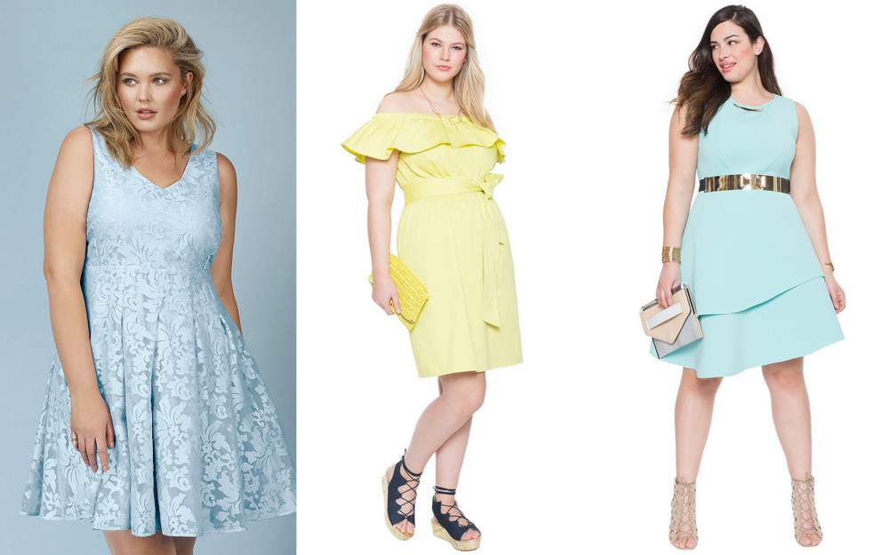 Perfectly Polished Plus Size Spring Pastels