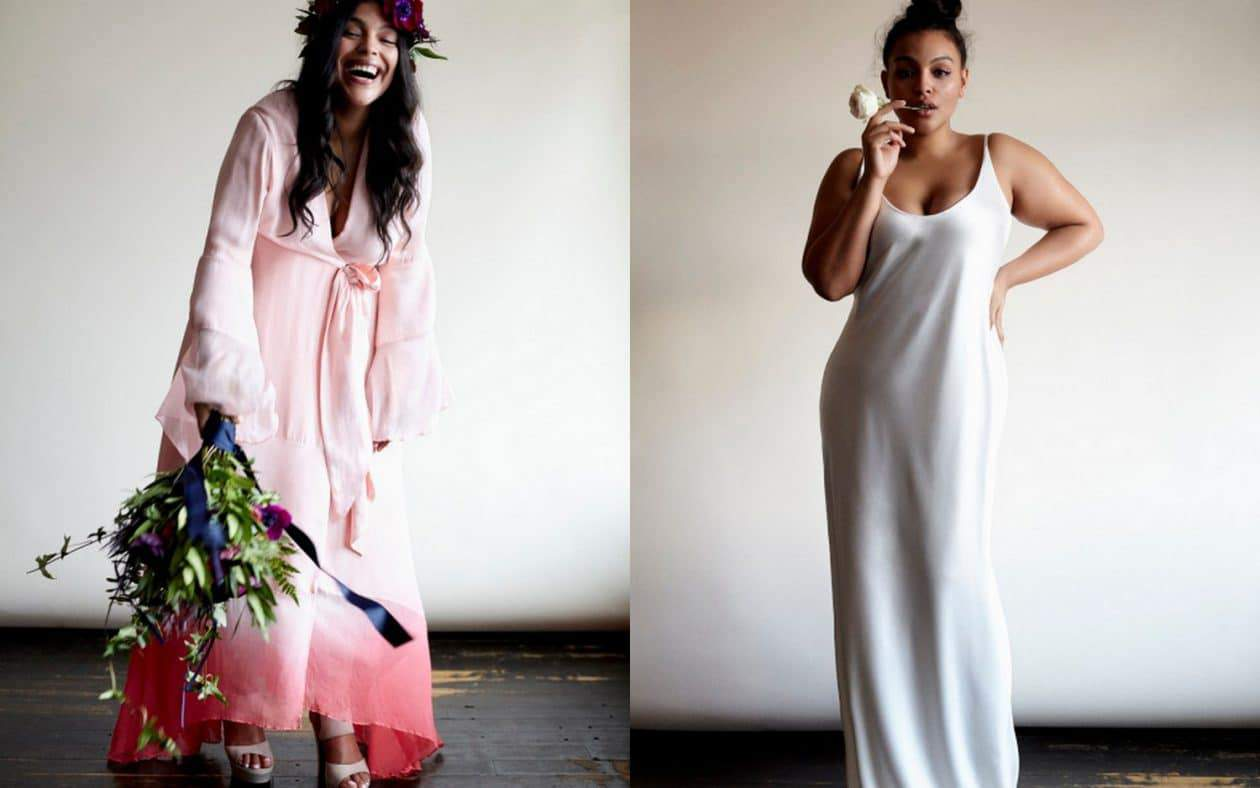 Boho Luxe Plus Size Bridal Dresses- Eloquii for Stone Fox Bride
