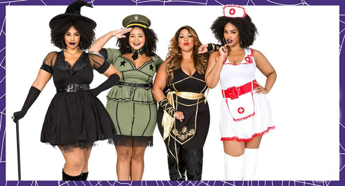 Five Places to Shop For Plus Size Halloween Costumes