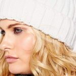 Tuque with Faux Fur Pompom