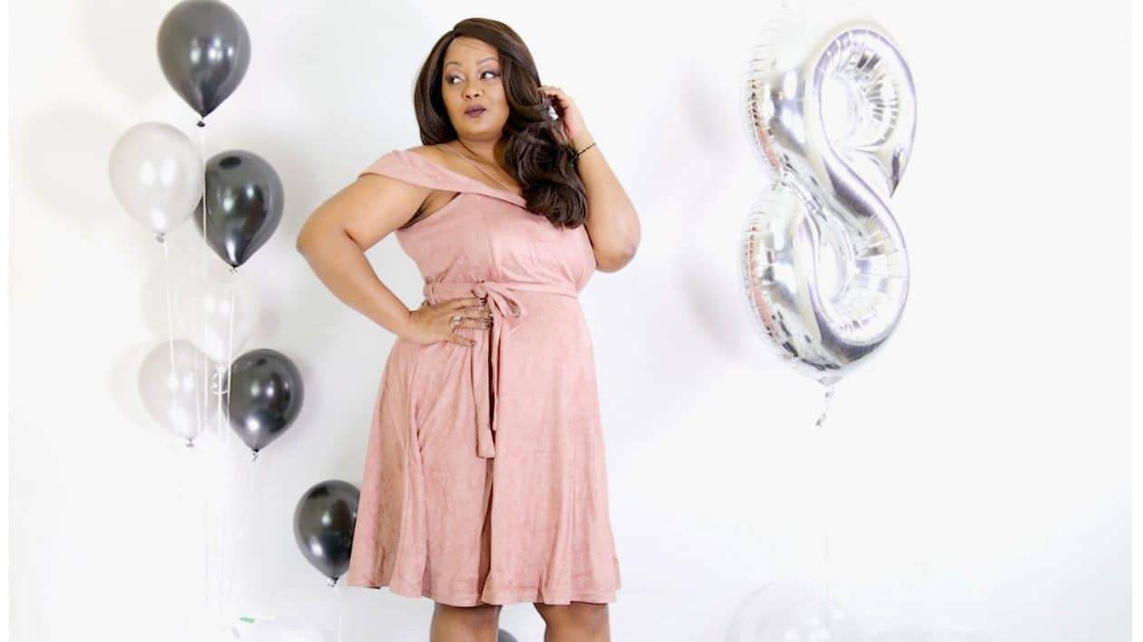 Marie Denee- The Curvy Fashionista creator in City Chic