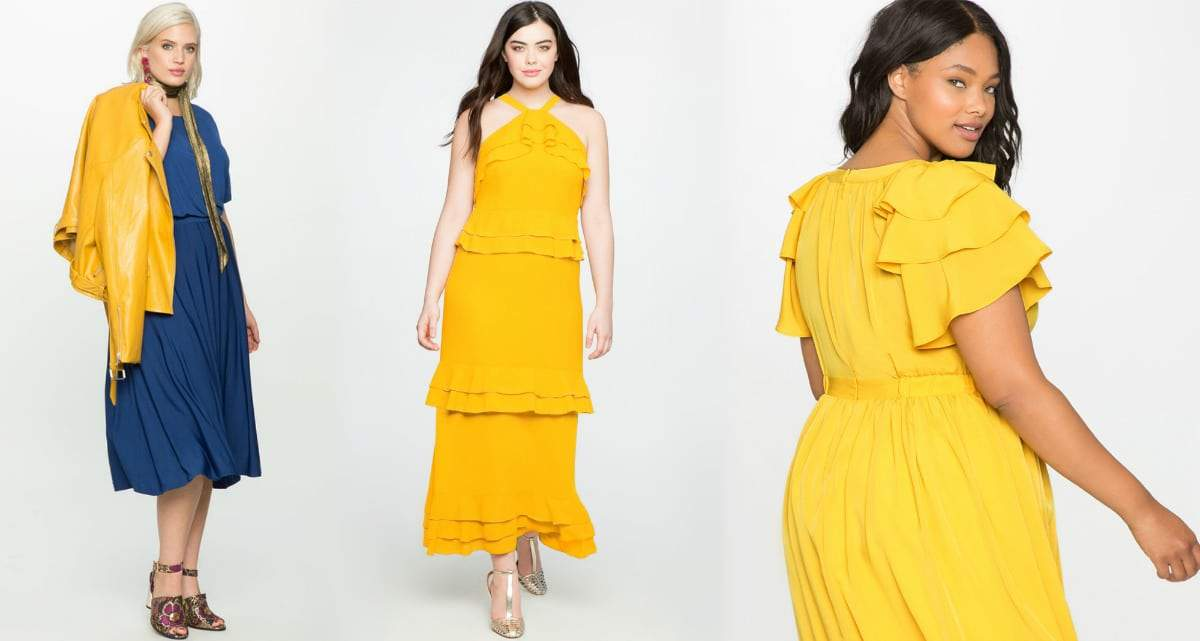 Eloquii 7 Must Rock, Yellow, Plus Size Faves