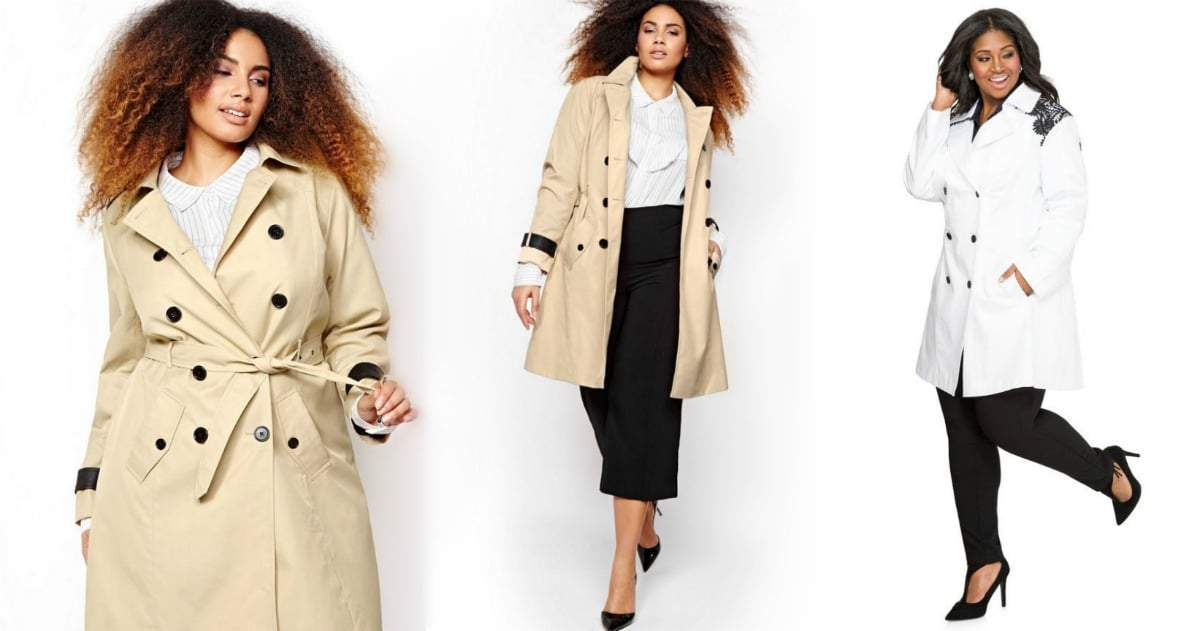 Coat Update 8 Plus Size Trench Coats You Need Now